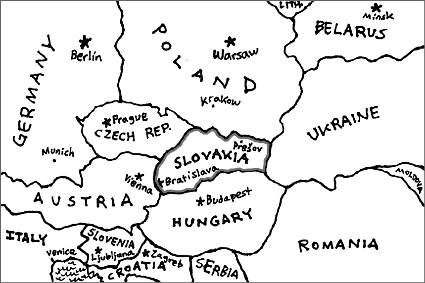 Maps Central Europe  CoffeeDumplingKomiks