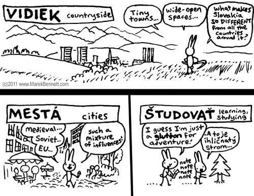 Why visit Slovakia by Marek Bennett